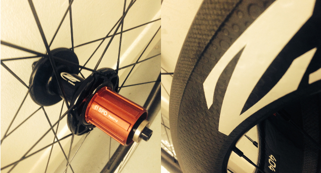 Zipp 404 Firecrest Close-up