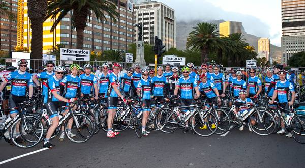 Cape Argus Cervelo Team Photo