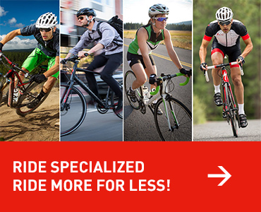 Specialized Ride More for Less Promotion